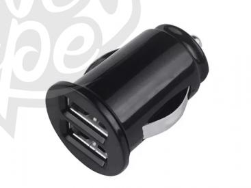 Grab n Go - Carcharger Dual Usb - 2.1 Amp - Zwart