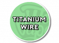 Titanium Weerstandsdraad
