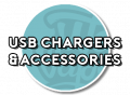 USB chargers & accessories