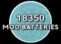 18350 Batterijen