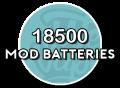 18500 Batterijen