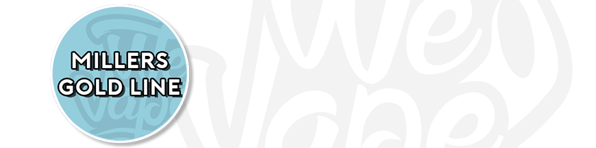 Millers e-liquid - Goldline